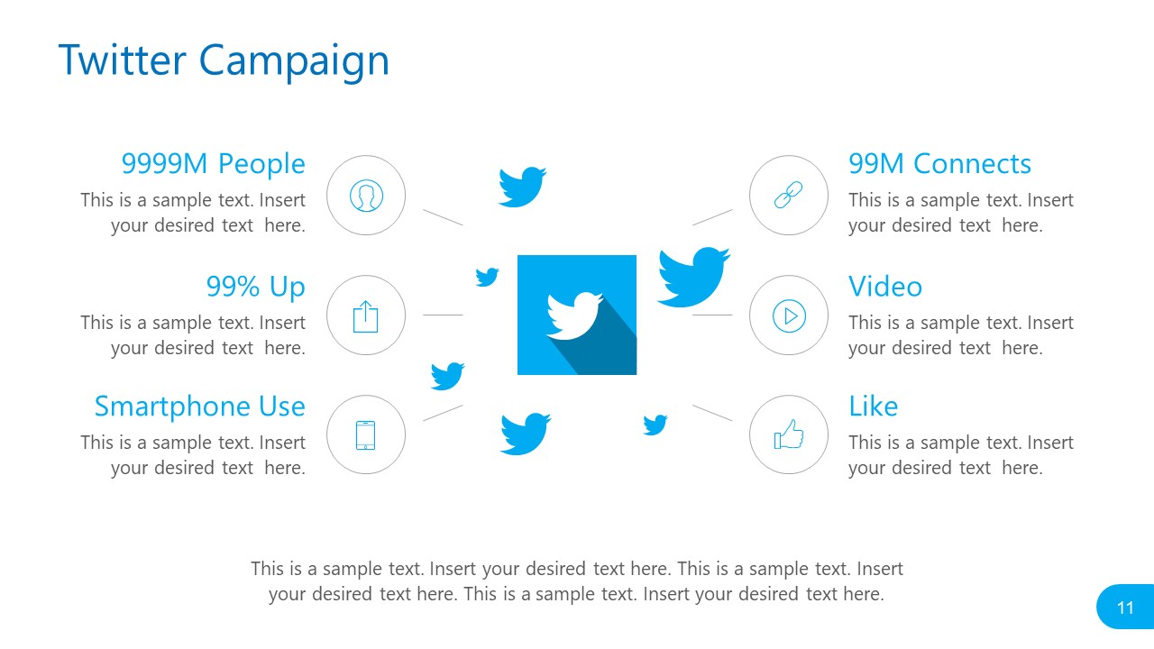 Twitter Campaign Template Social Media Report