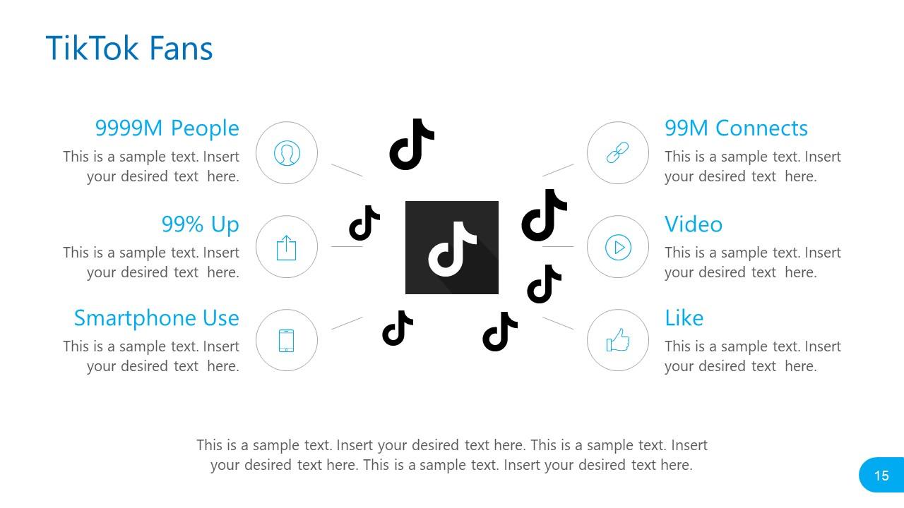 TikTok Fans Template Social Media Report