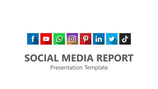 Presentation of Social Media Cover Icons