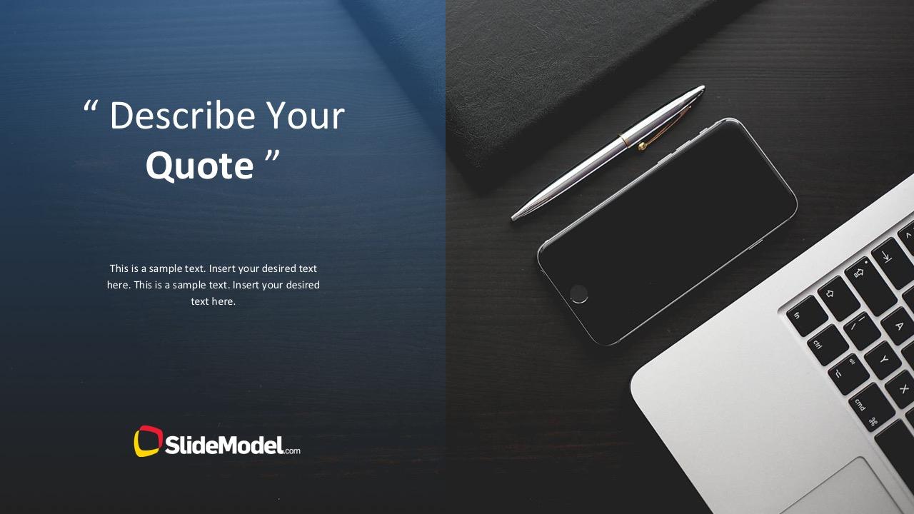 Business Slide Template Presentation