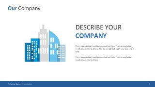 Corporate Template PowerPoint Slides
