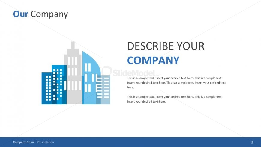 Company background powerpoint template slidemodel company background powerpoint template toneelgroepblik Gallery
