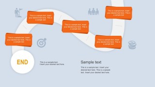 Business Goal Strategy Roadmap Template for PowerPoint