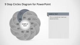 Segmented Circular Diagram PowerPoint Template