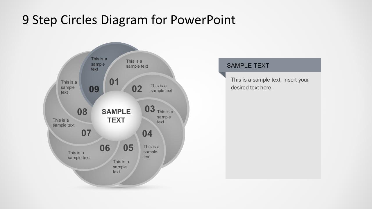 Editable Circular Diagrams for PowerPoint