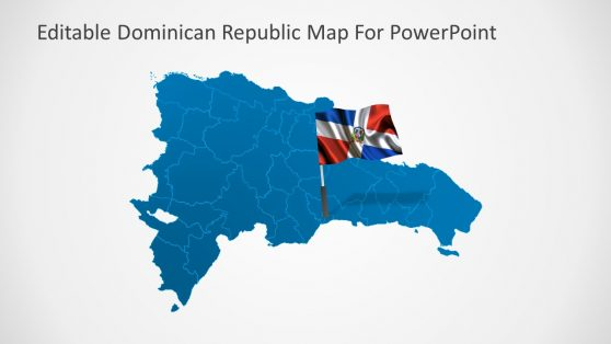 Map Pointer Flag of Country