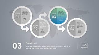 Progress Trend Infographic Icon Slide