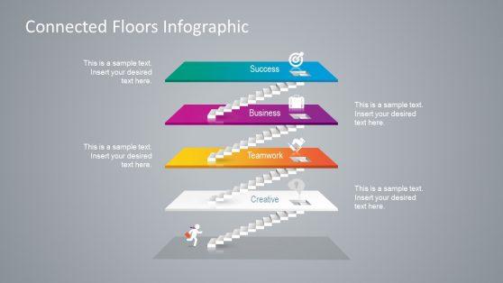 4 Level Infographic Model