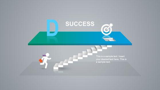Success Sales Target PPT Shape