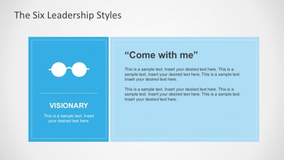 Six Leadership Styles PowerPoint Infographics