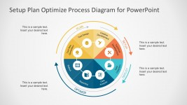8 Steps Circle Chart PowerPoint Diagrams