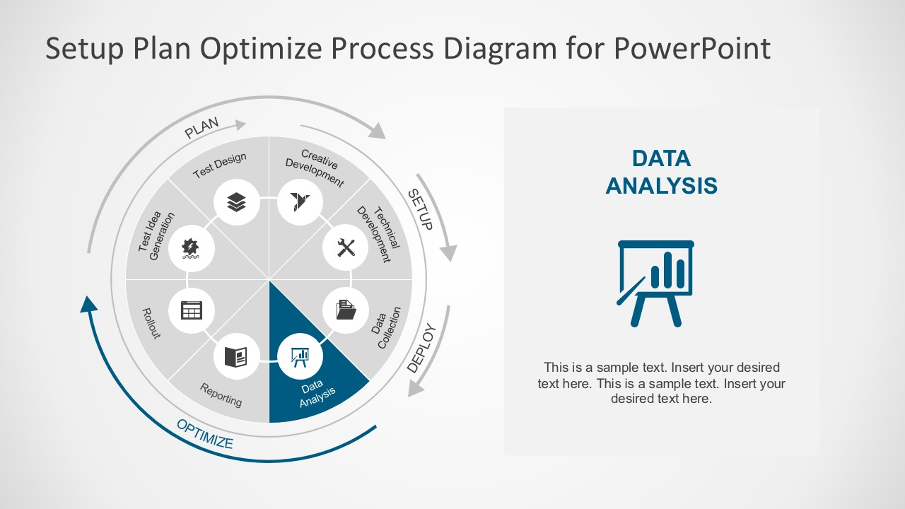 Creative Circular Process Diagrams and PowerPoint Icons