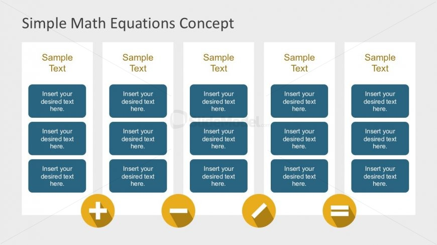 Nice Chart Layouts with Math Equations Design