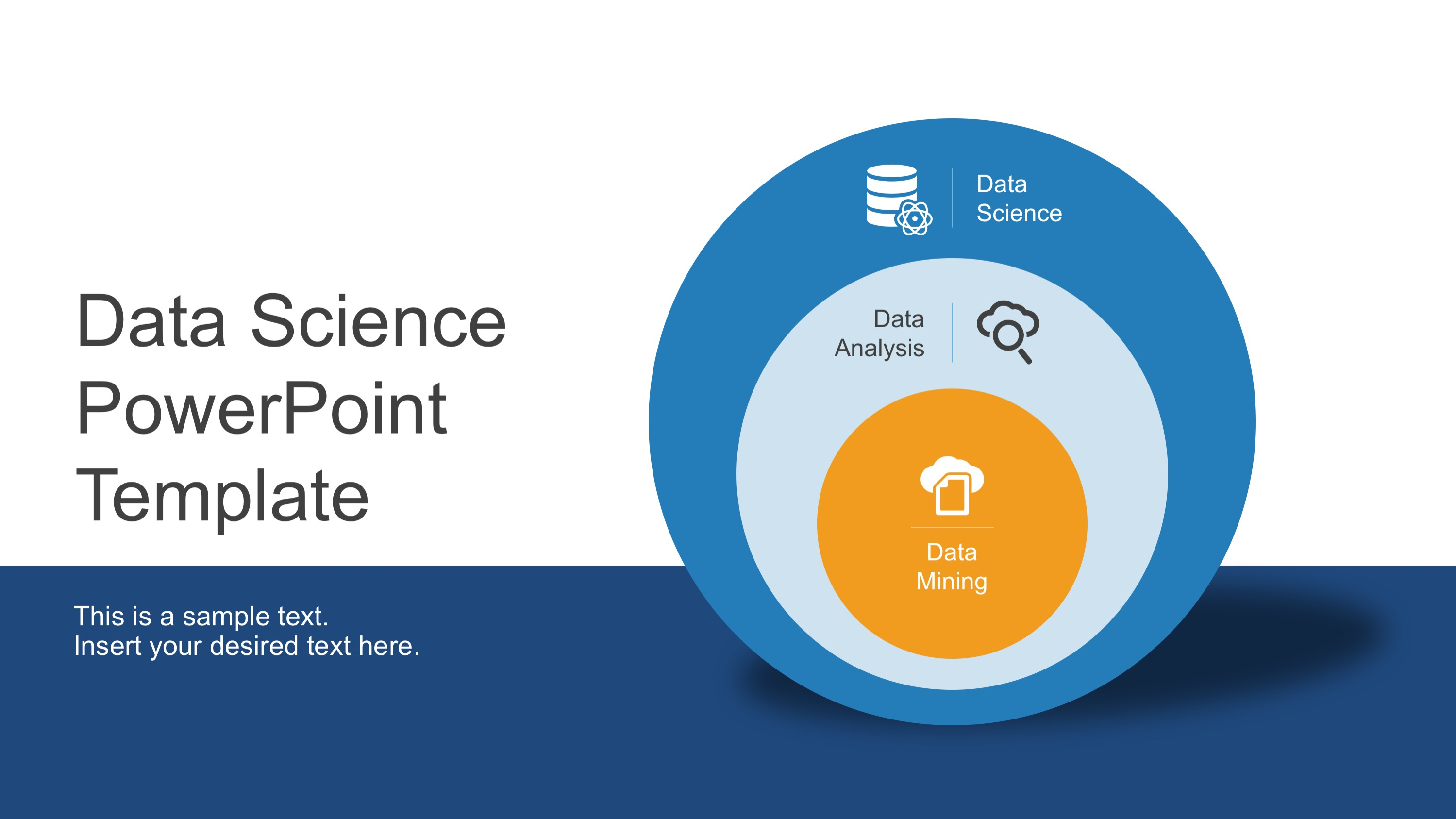 Data science shapes powerpoint template slidemodel ppt template data science toneelgroepblik Gallery