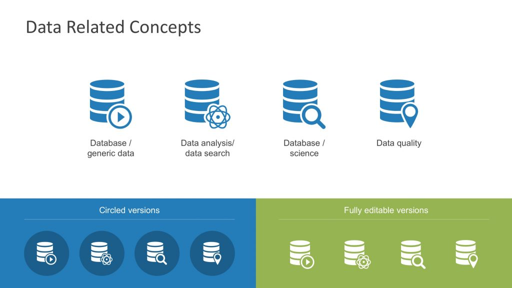 data science icons for powerpoint