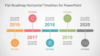 Arrow Timeline and Planning PowerPoint Template