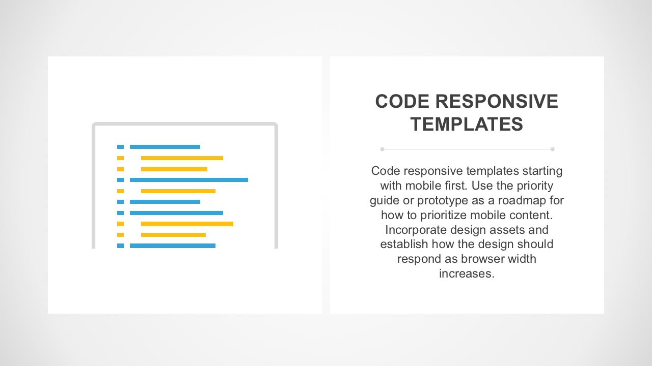 Mobile Site Design Responsiveness Process Layout