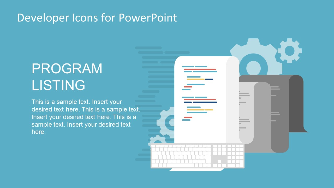Editable PowerPoint Shapes and Icons for Software