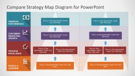 Editable Strategy Map Business PowerPoint