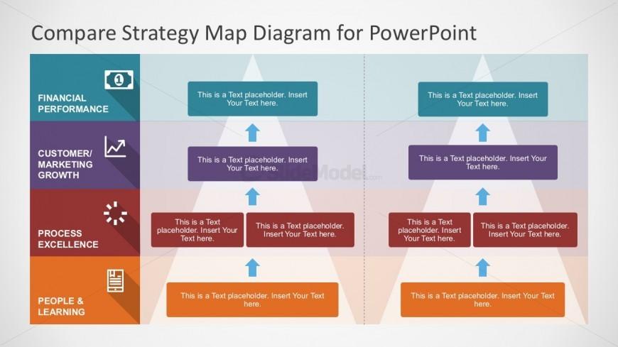 editable strategy map business powerpoint - slidemodel, Modern powerpoint