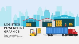 Warehouse Logistics PowerPoint Shapes