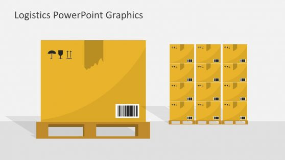 Package Shape of PowerPoint Courier Service