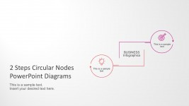 Circular Nodes Step by Step Process Templates