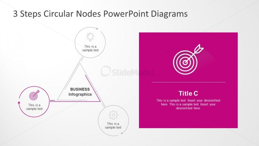 Dartboard and Arrow Infographic Presentation