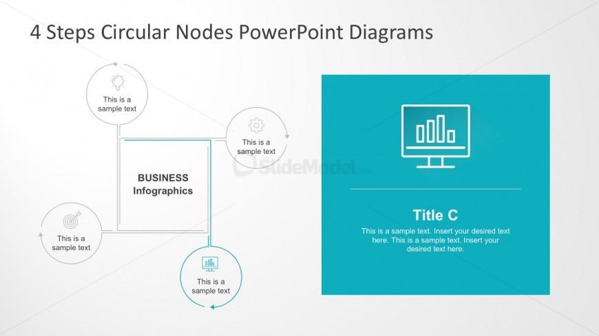 Editable Flat Node PowerPoint Diagrams Presentation