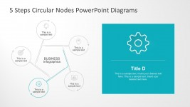 Circle Nodal PowerPoint Diagrams for Business