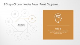 8 Steps Process Diagrams PowerPoint Graphics