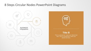 8 Steps Circular PowerPoint Template Slides