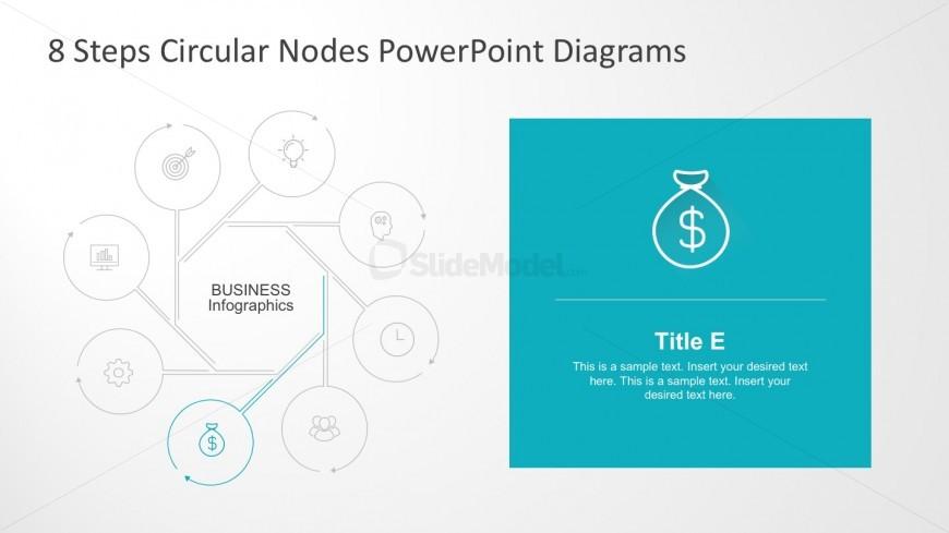 Editable Circular Nodal PowerPoint Diagrams