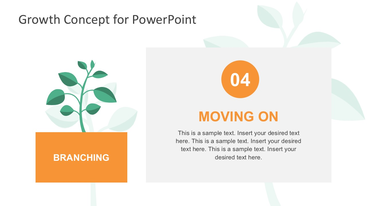 Stage of Business Growth PowerPoint