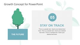 Creative Tree Growth Concept PowerPoint Slides