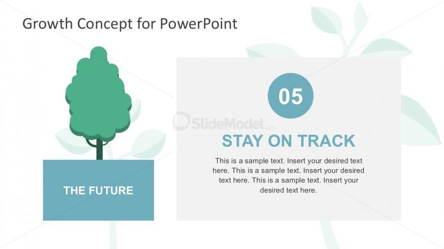 Business Success Metaphor Slide in PowerPoint