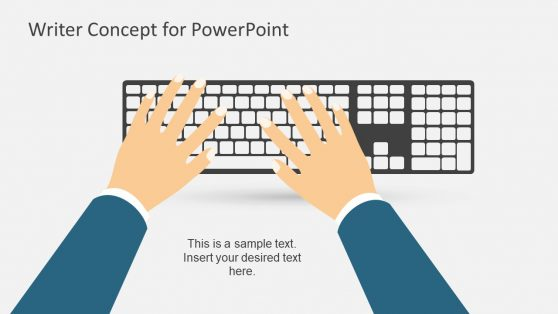 Keyboard Metaphor PowerPoint Shape