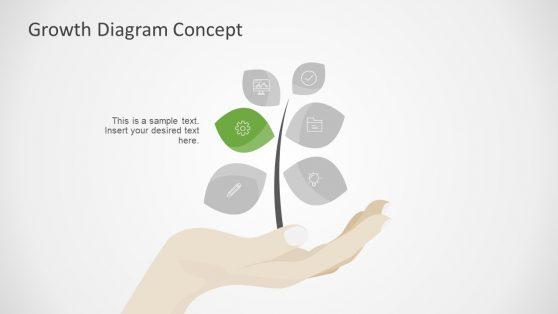 Tree Metaphor PowerPoint Diagram