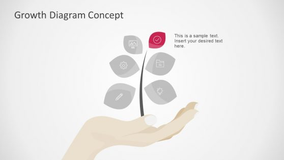 Infographic PowerPoint Growth Diagram