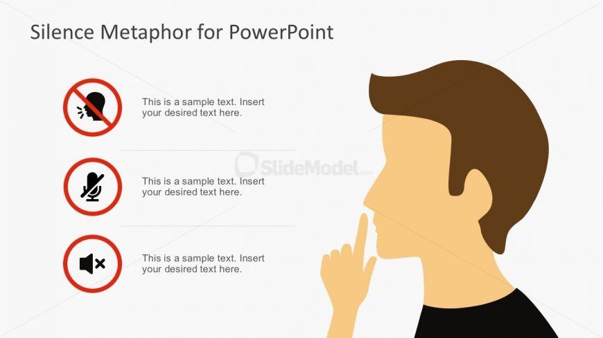 Silence Metaphor for PowerPoint