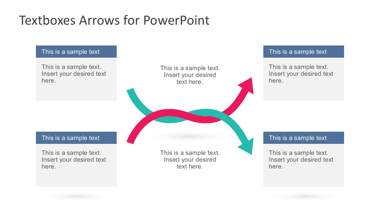 Interwind Arrow Template for PowerPoint