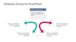 2 Arrow Template Graphic Slides