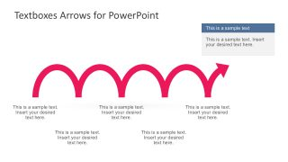 Creative Arrow Vectors with 5 Steps