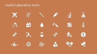 Medical and Scientific Advancement Icons