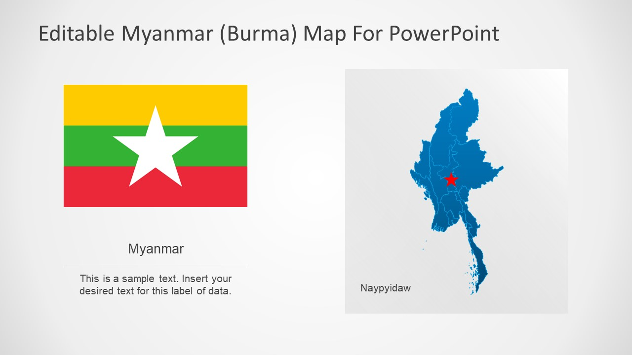 PPT Slide of City and Country Maps PowerPoint