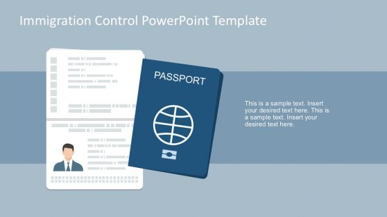 Passport Vector PowerPoint Slides