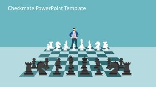 Checkmate Metaphor PowerPoint Template