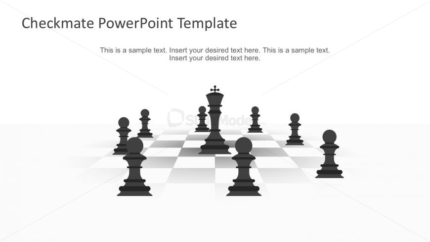Chess PowerPoint Slides for Business Presentations