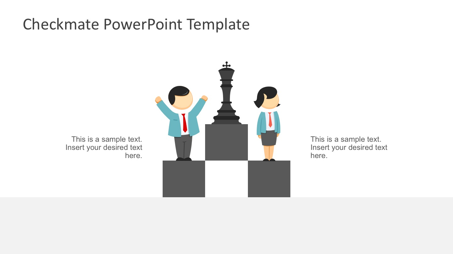 Editable Chess Template in Microsoft Powerpoint