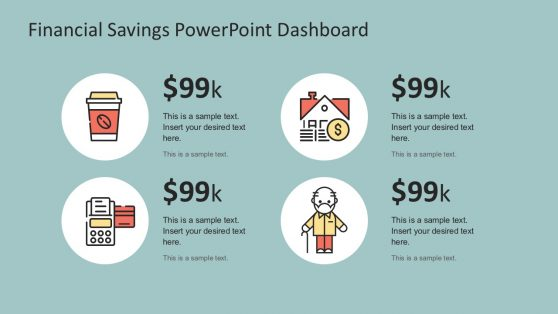 Financial Infographic Dashboard Presentation